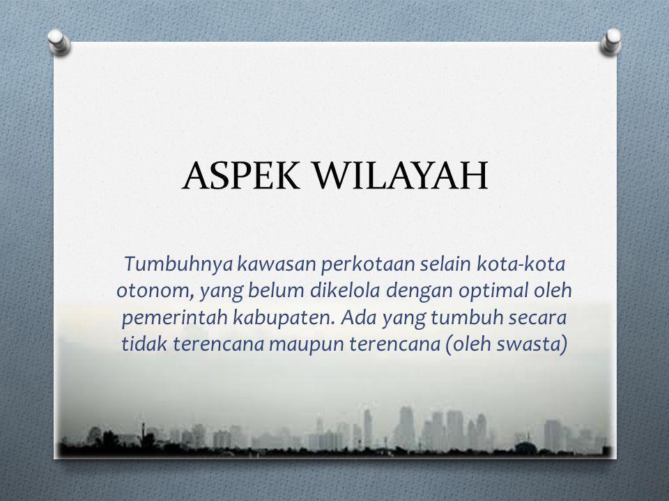 ASPEK WILAYAH