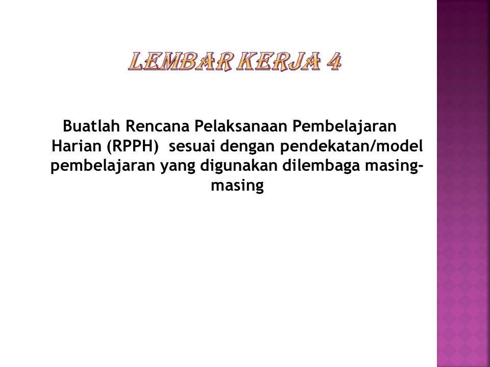 LEMBAR KERJA 4