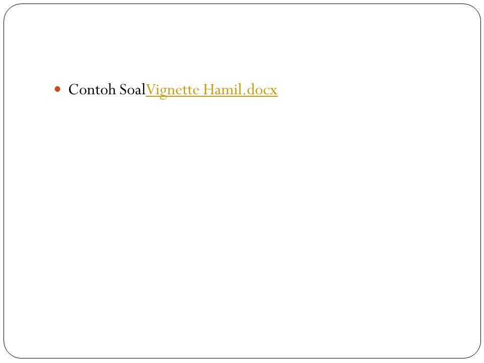 Contoh SoalVignette Hamil.docx