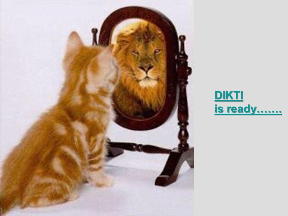 DIKTI is ready…….