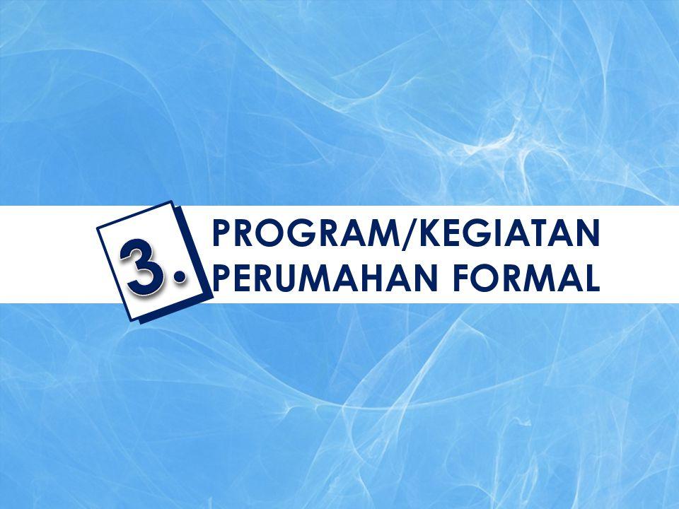 PROGRAM/KEGIATAN PERUMAHAN FORMAL 3.