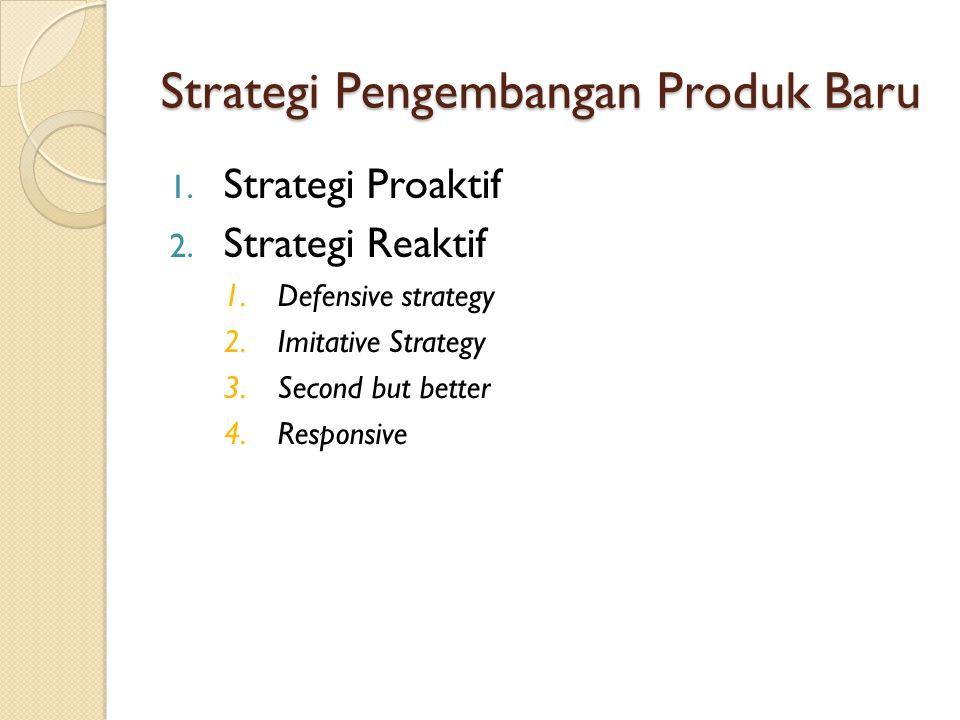 Strategi Pengembangan Produk Baru