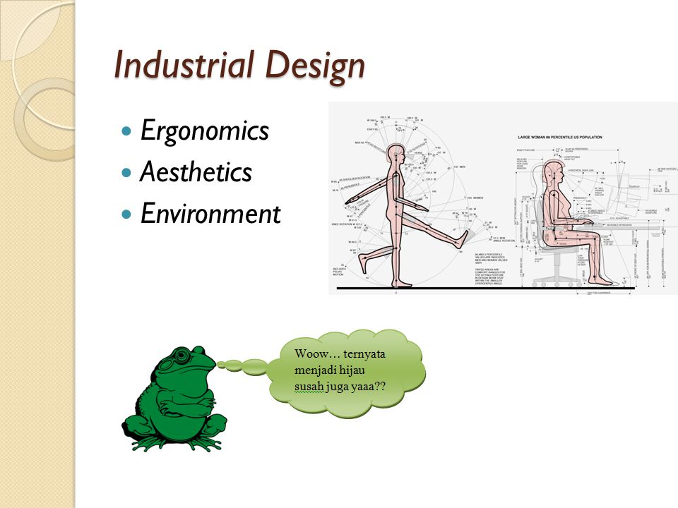 Industrial Design Ergonomics Aesthetics Environment