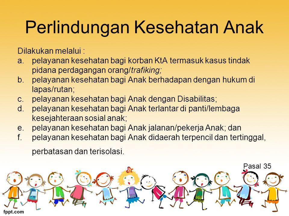 Perlindungan Kesehatan Anak