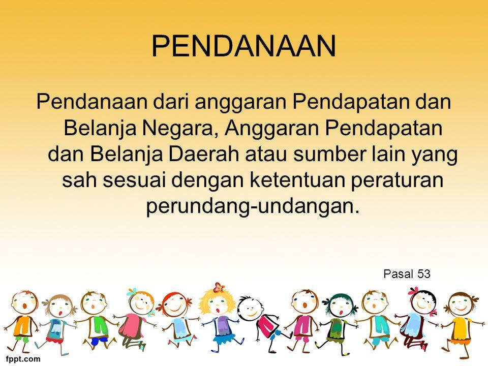 PENDANAAN
