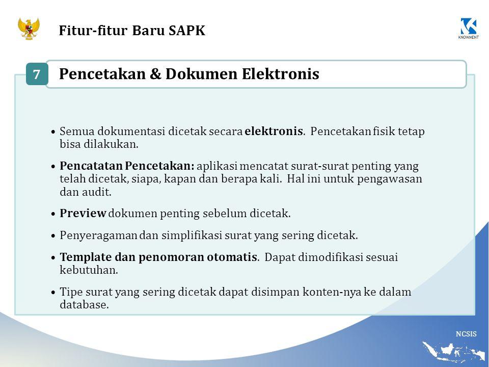 Pencetakan & Dokumen Elektronis