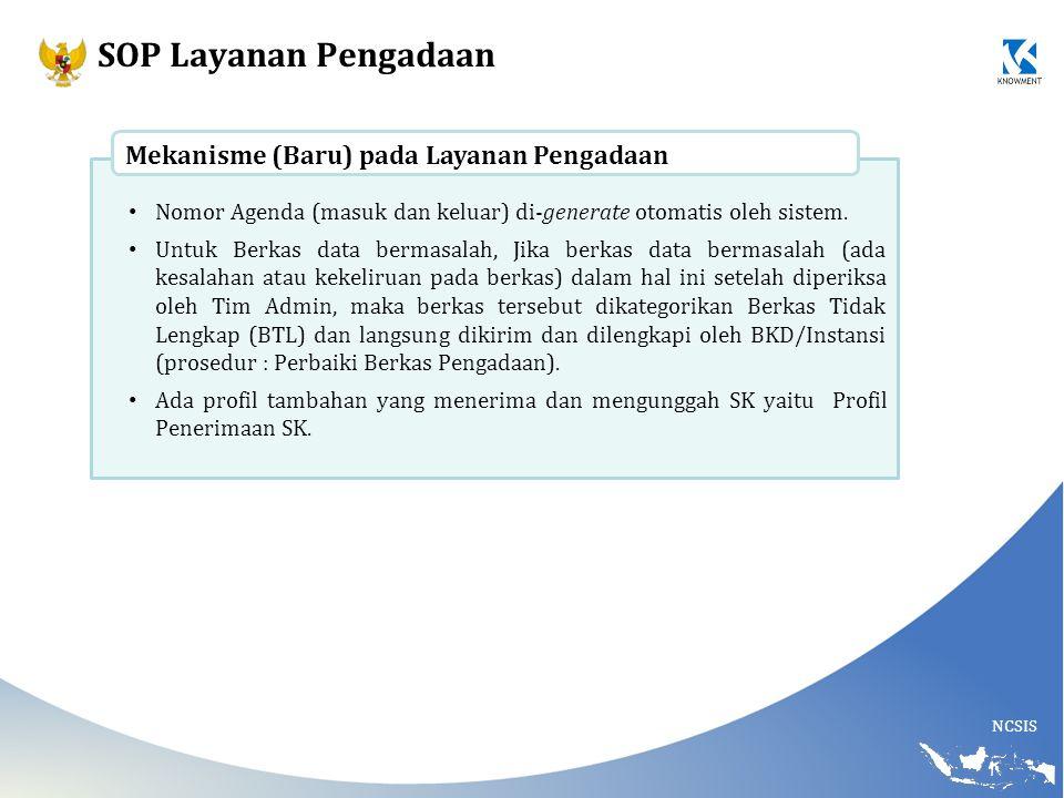SOP Layanan Pengadaan Mekanisme (Baru) pada Layanan Pengadaan