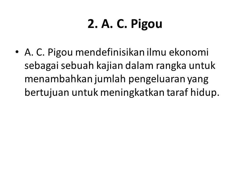 2. A. C. Pigou