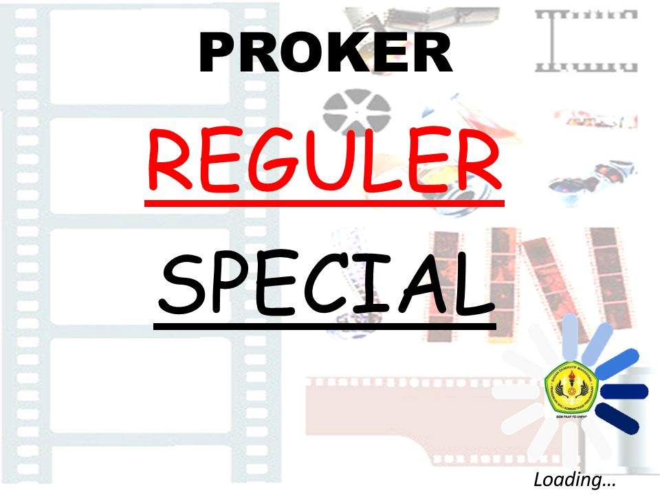 PROKER REGULER SPECIAL Loading…