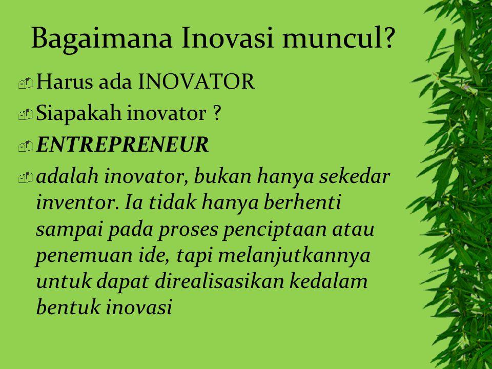 Bagaimana Inovasi muncul
