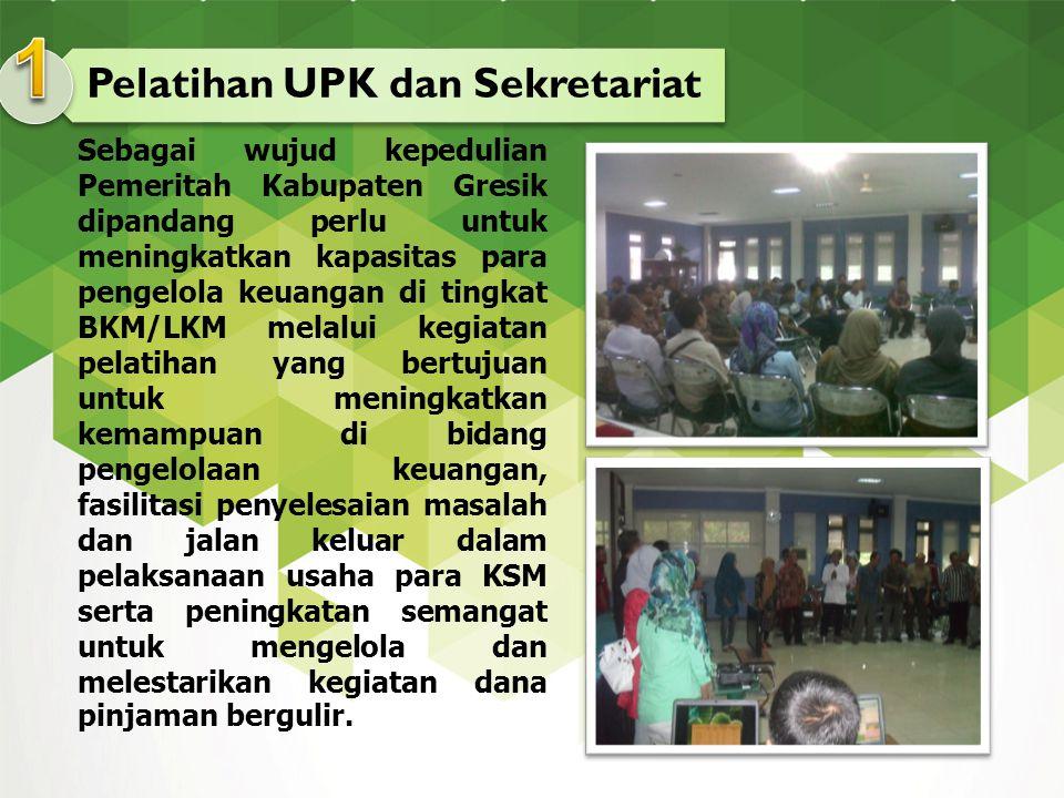 Pelatihan UPK dan Sekretariat