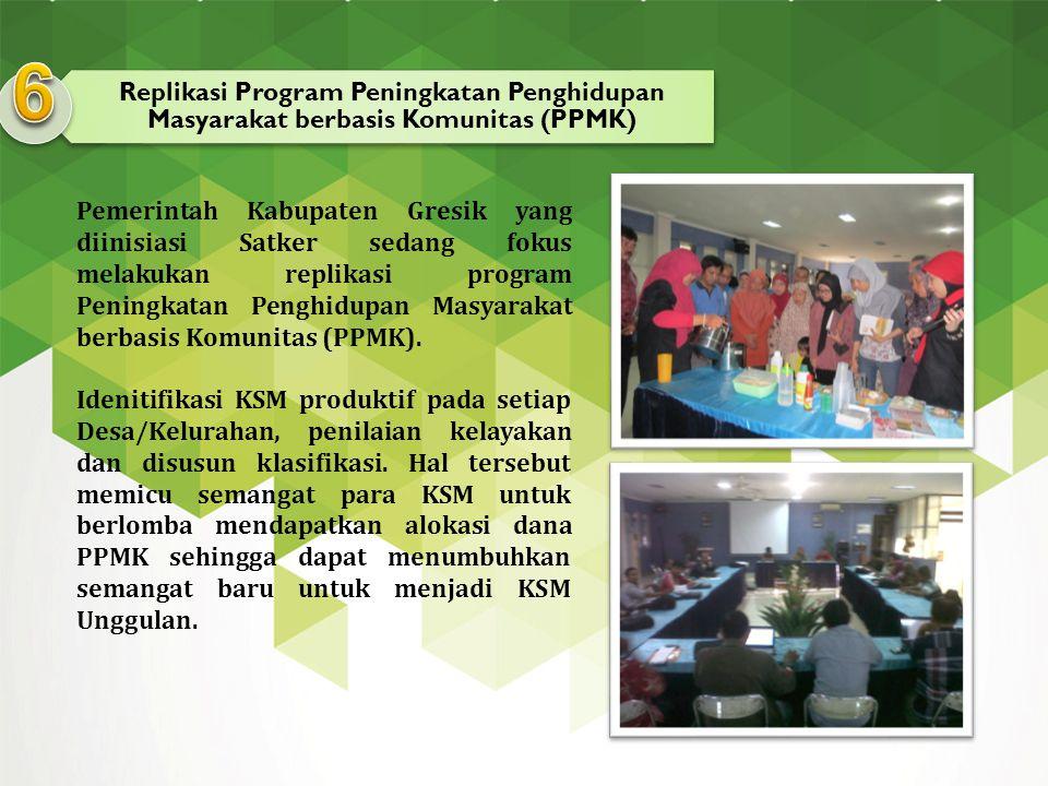 6 Replikasi Program Peningkatan Penghidupan Masyarakat berbasis Komunitas (PPMK)
