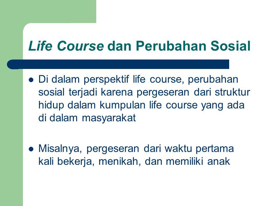 Life Course dan Perubahan Sosial