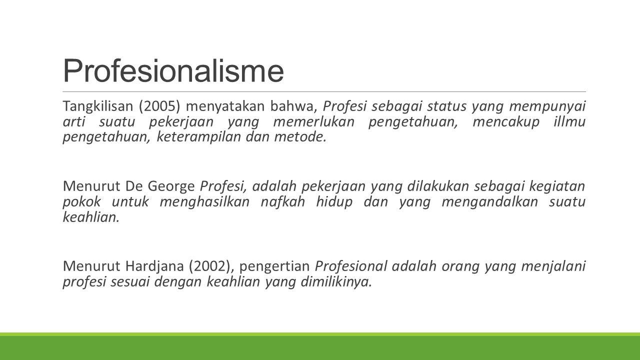 Profesionalisme