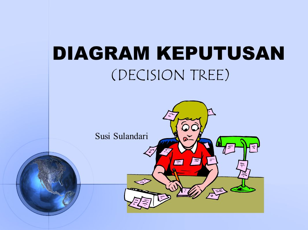 DIAGRAM KEPUTUSAN (DECISION TREE) Susi Sulandari