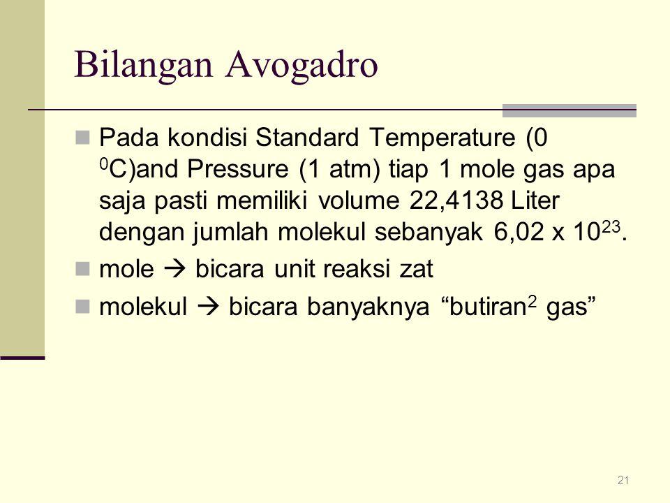 Bilangan Avogadro