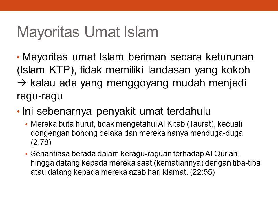 Mayoritas Umat Islam