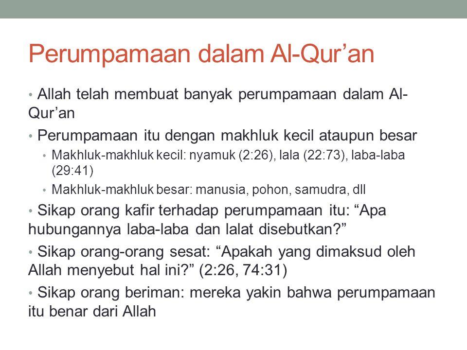 Perumpamaan dalam Al-Qur'an