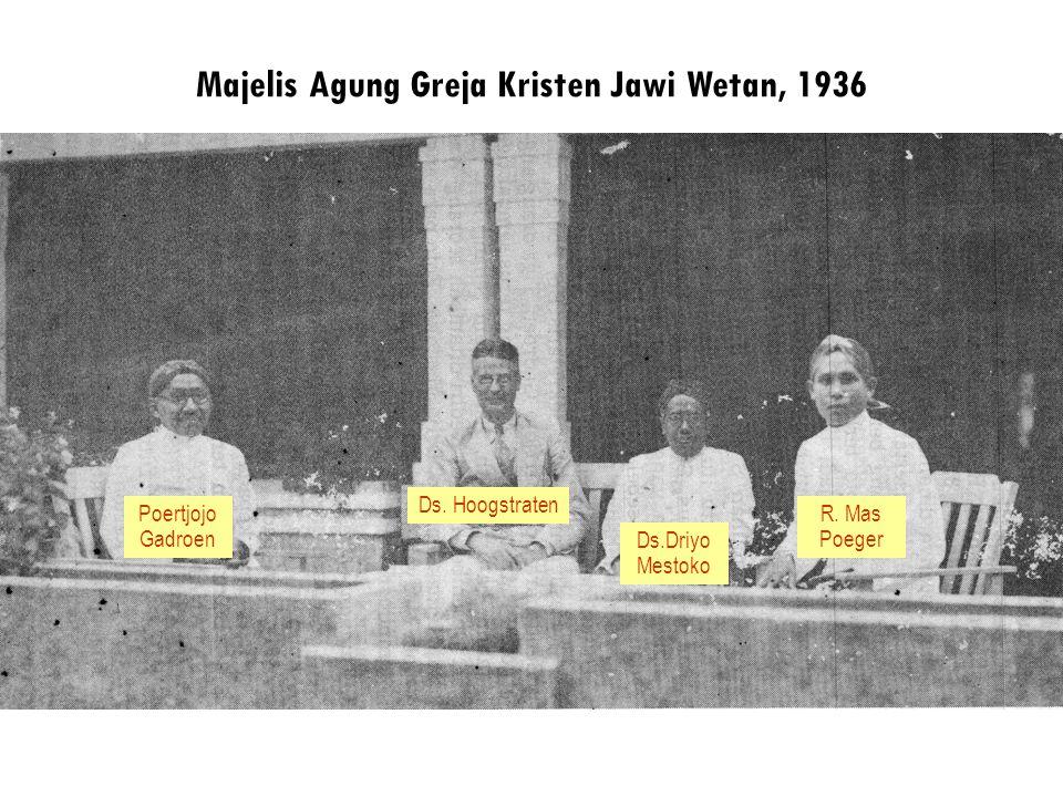 Majelis Agung Greja Kristen Jawi Wetan, 1936