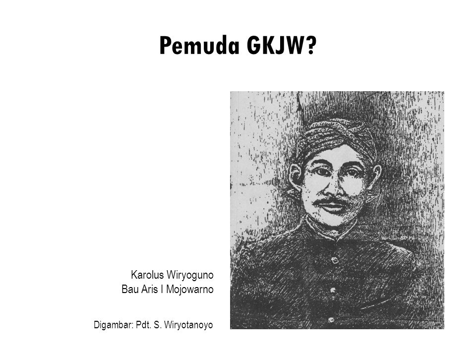 Pemuda GKJW Karolus Wiryoguno Bau Aris I Mojowarno