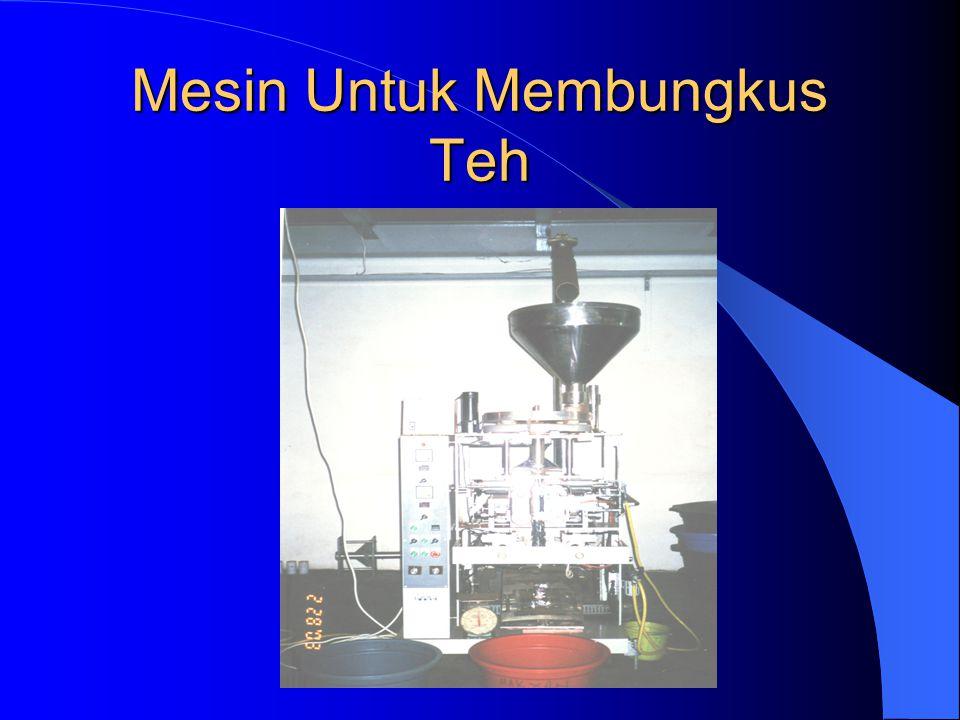Mesin Untuk Membungkus Teh