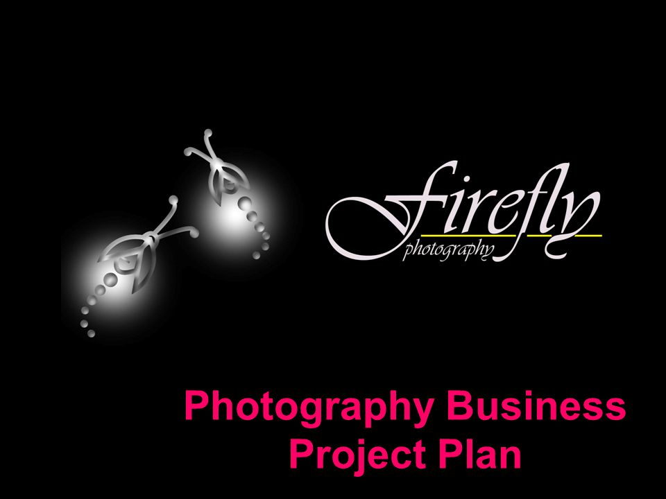 Photography Business Project Plan