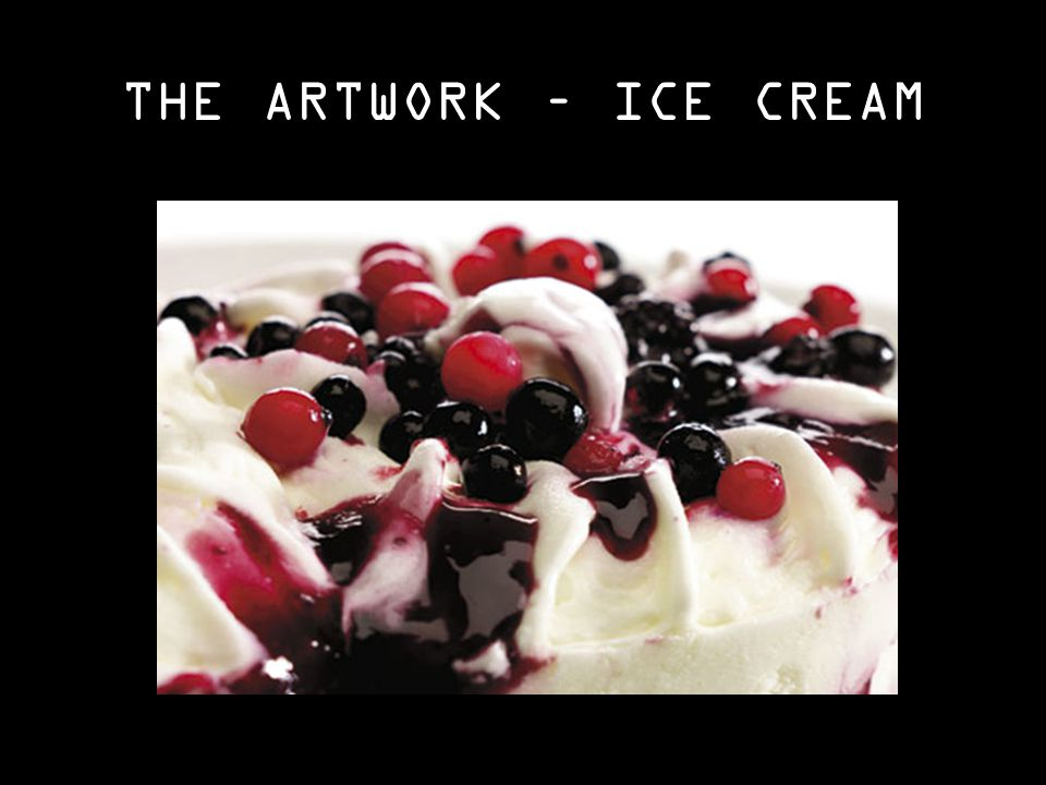 THE ARTWORK – ICE CREAM