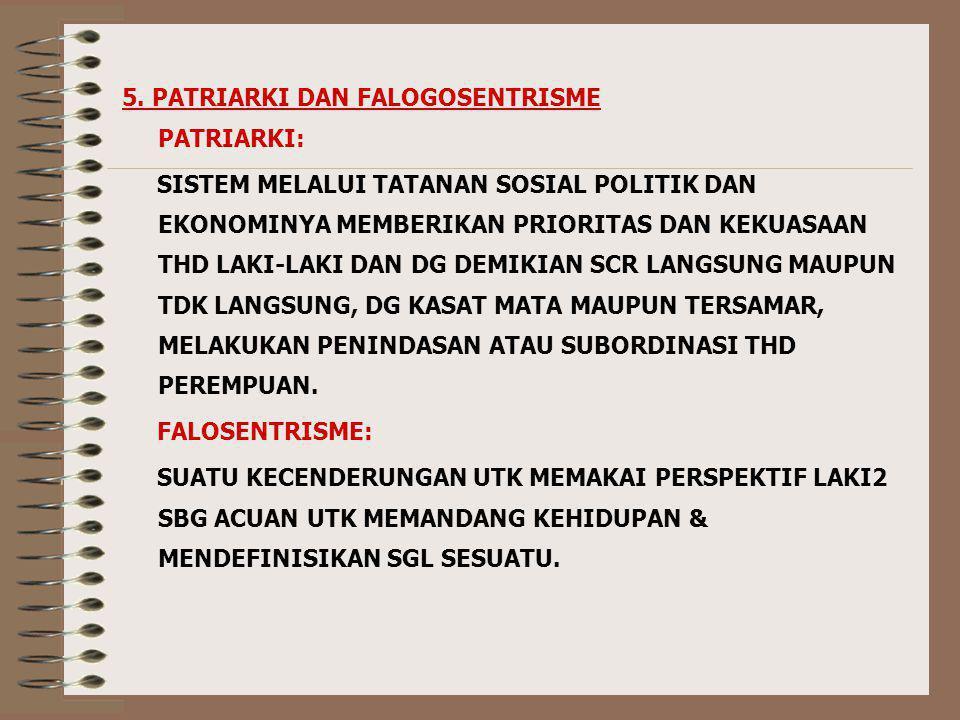 5. PATRIARKI DAN FALOGOSENTRISME
