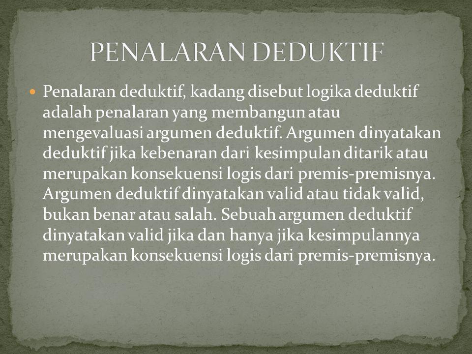 PENALARAN DEDUKTIF