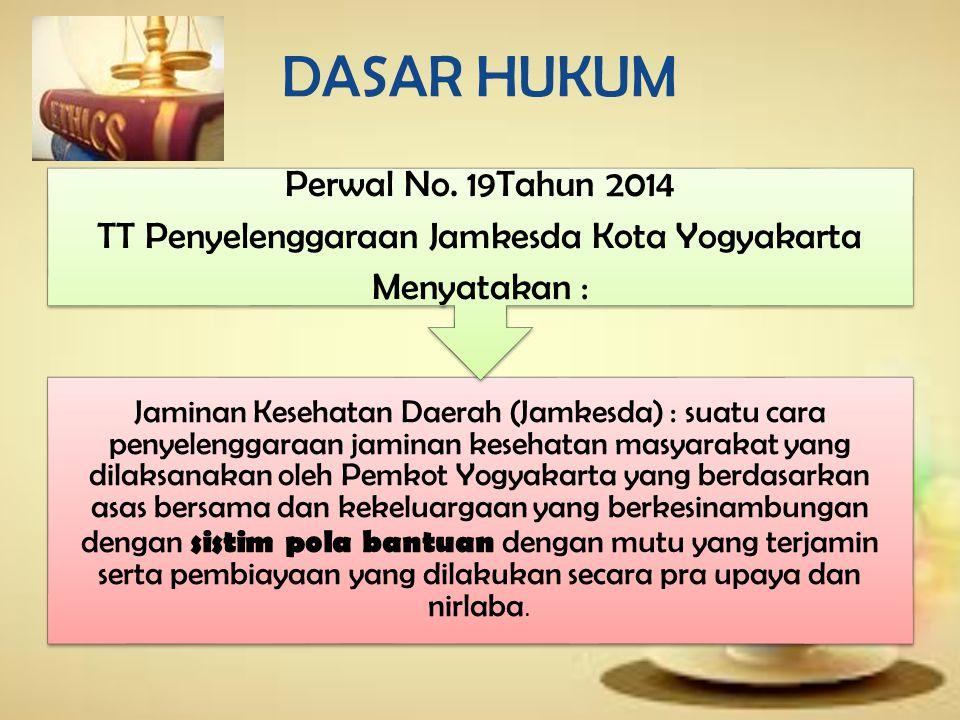 TT Penyelenggaraan Jamkesda Kota Yogyakarta