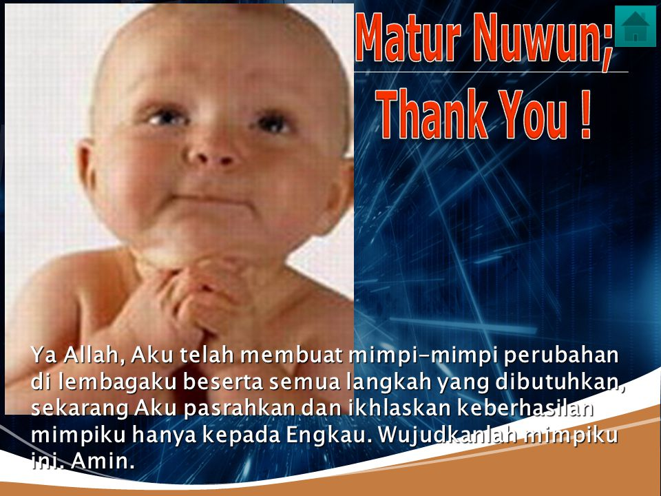 Matur Nuwun; Thank You !