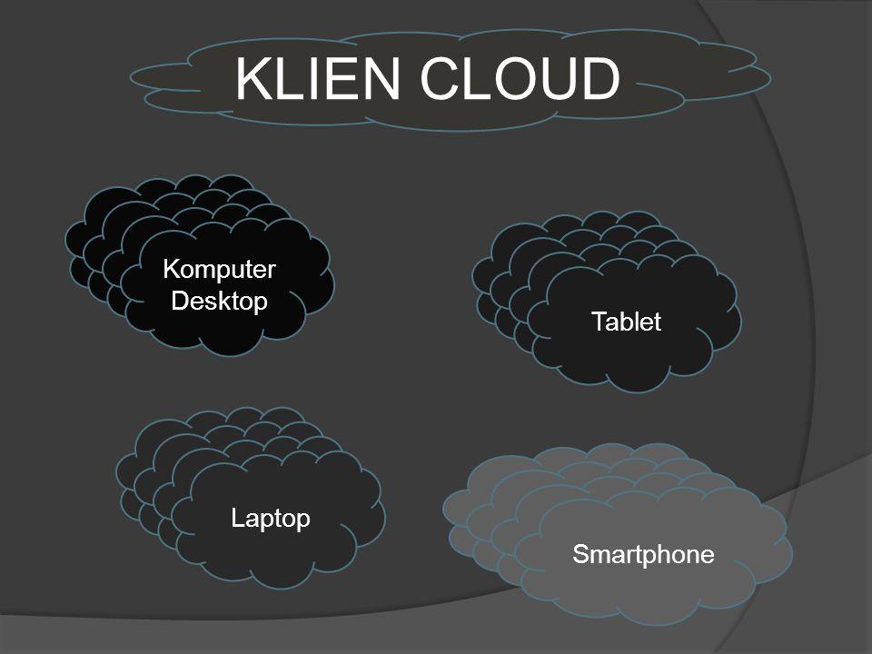 KLIEN CLOUD Komputer Desktop Tablet Laptop Smartphone