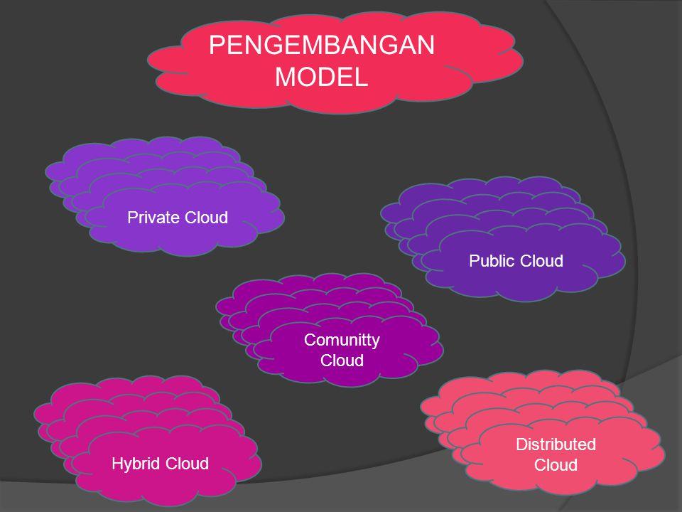 PENGEMBANGAN MODEL Private Cloud Public Cloud Comunitty Cloud