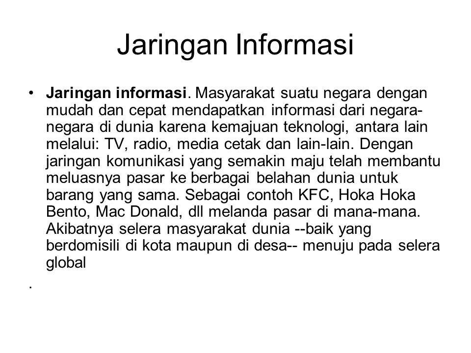 Jaringan Informasi