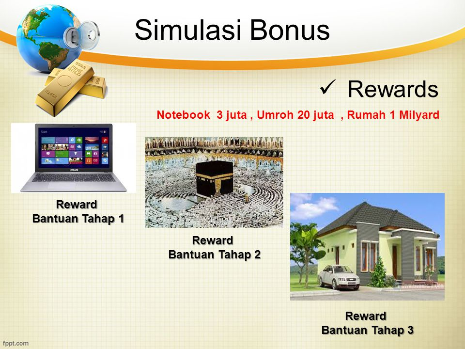 Simulasi Bonus Rewards