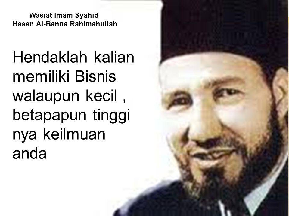 Hasan Al-Banna Rahimahullah