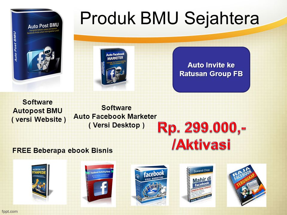 Auto Invite ke Ratusan Group FB Auto Facebook Marketer