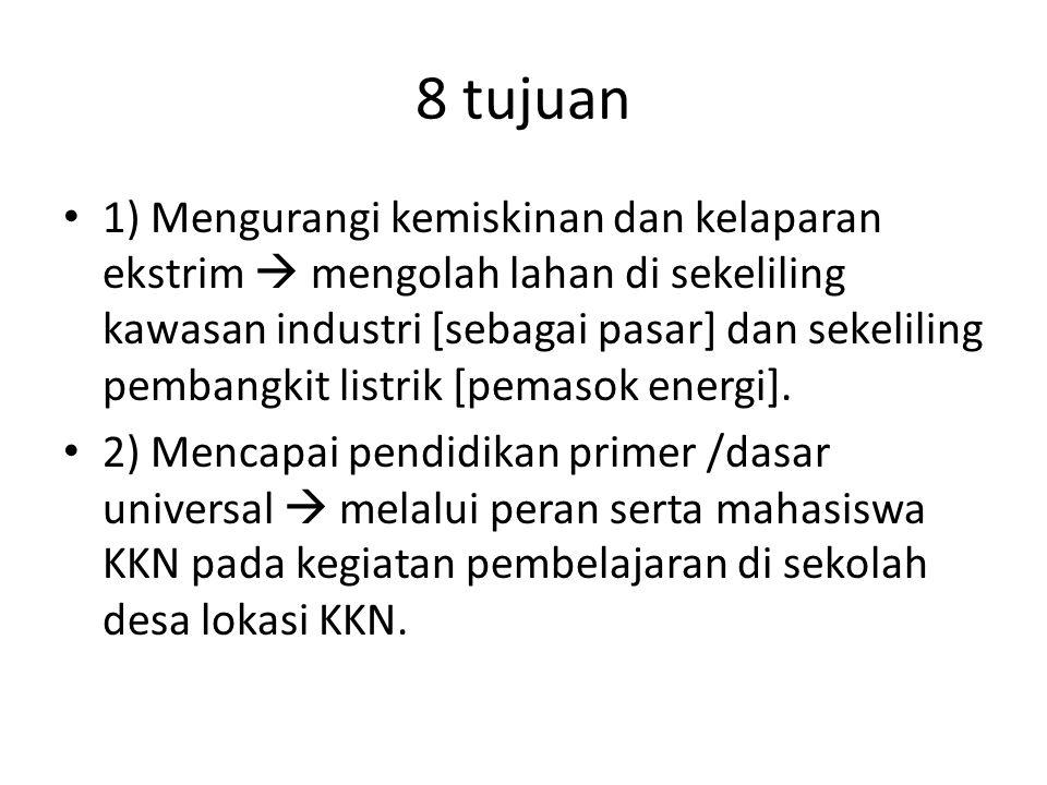 8 tujuan