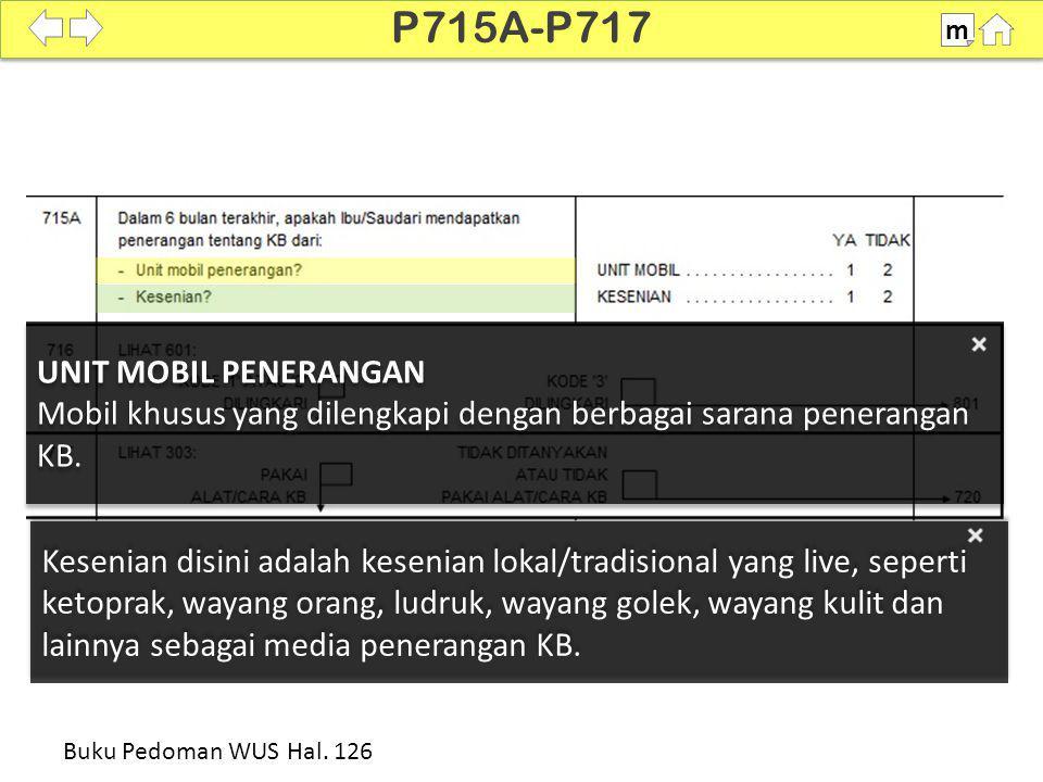P715A-P717 UNIT MOBIL PENERANGAN