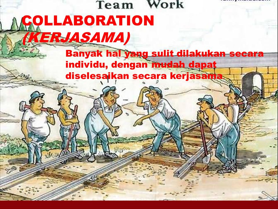 COLLABORATION (KERJASAMA)