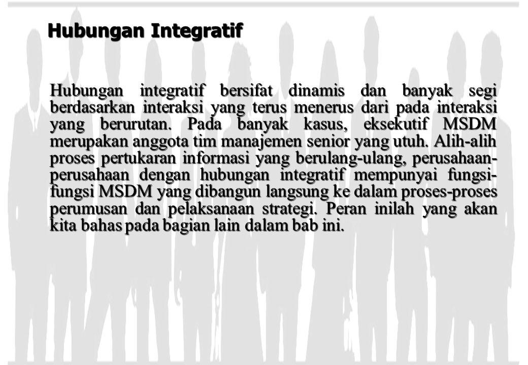 Hubungan Integratif