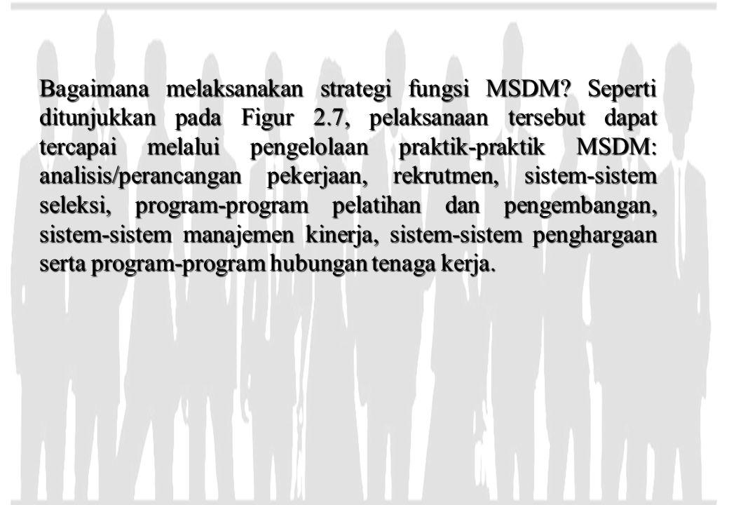Bagaimana melaksanakan strategi fungsi MSDM