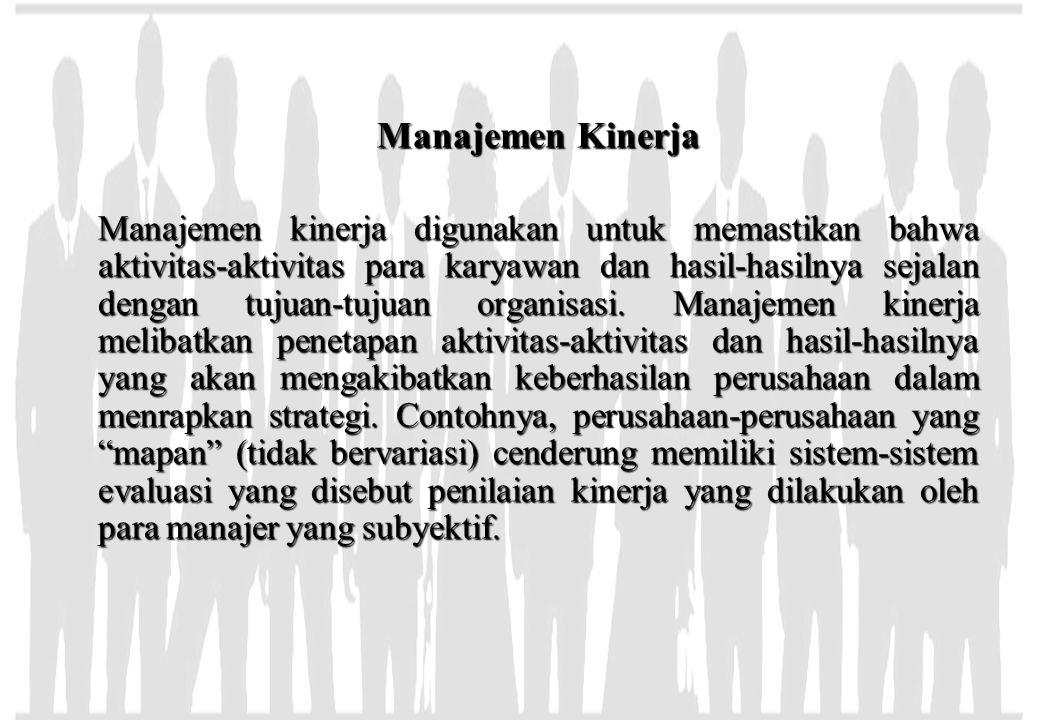 Manajemen Kinerja