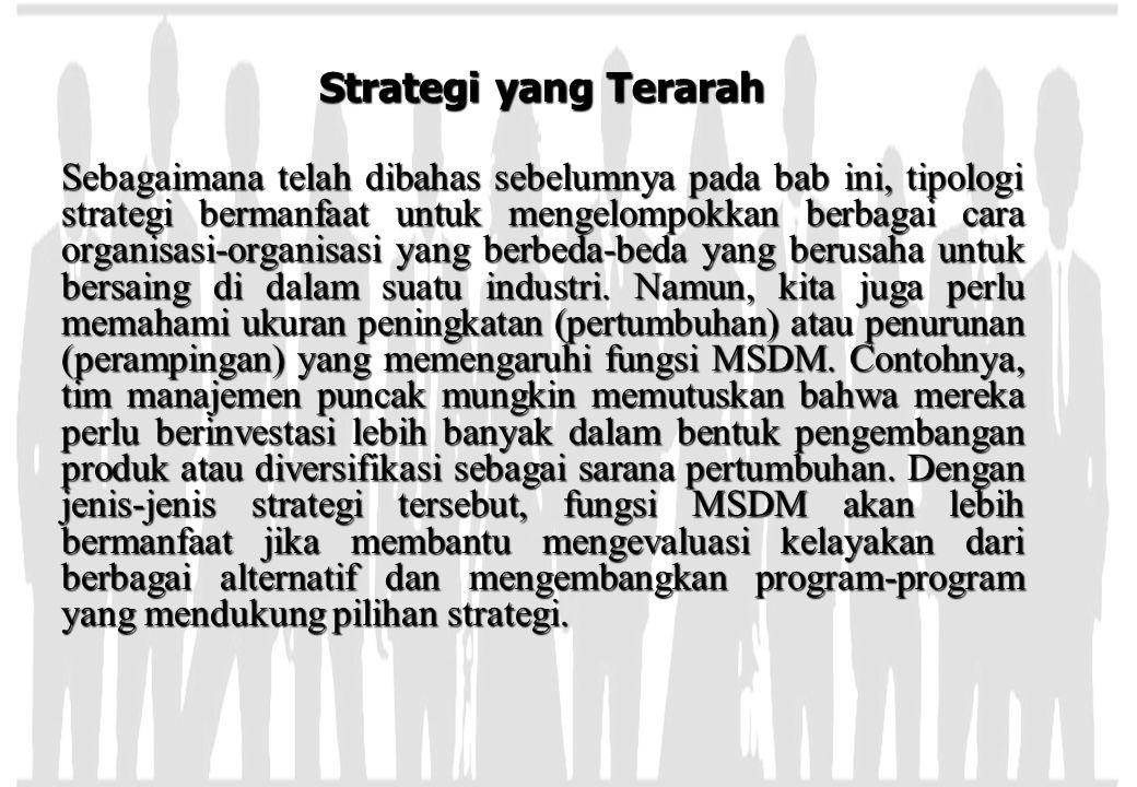 Strategi yang Terarah