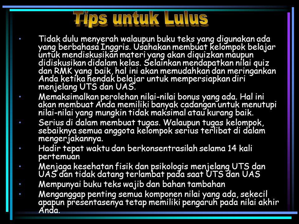 Tips untuk Lulus