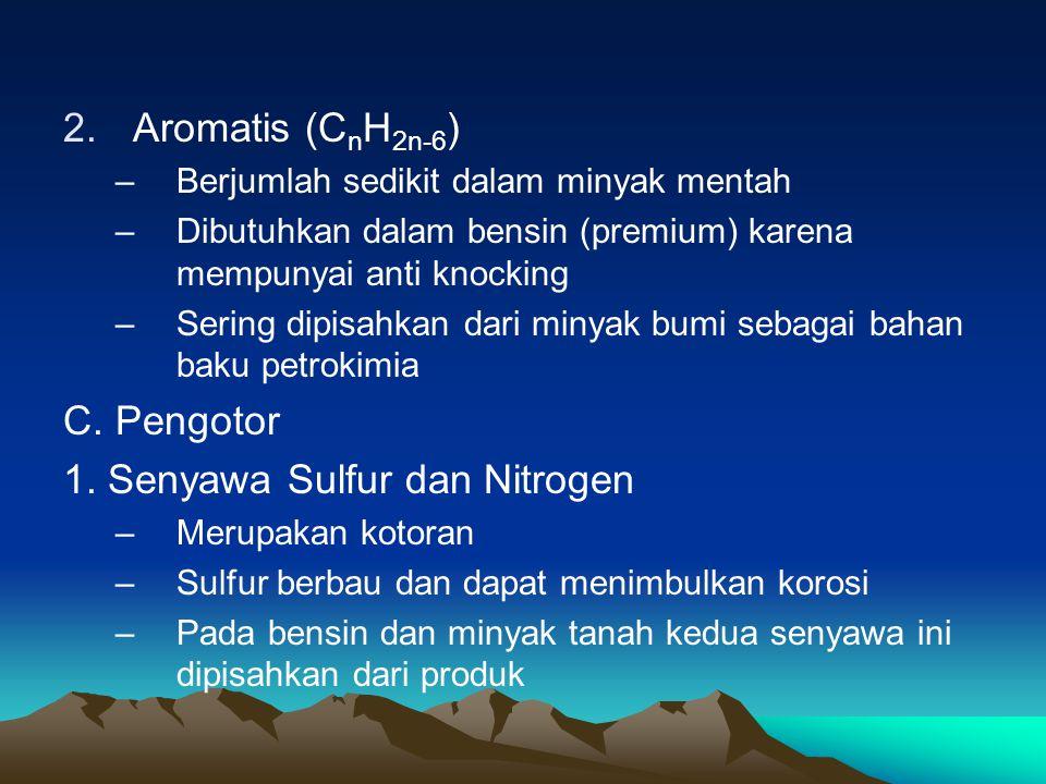 1. Senyawa Sulfur dan Nitrogen