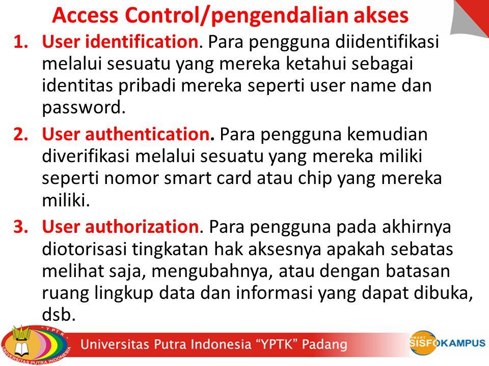 Access Control/pengendalian akses