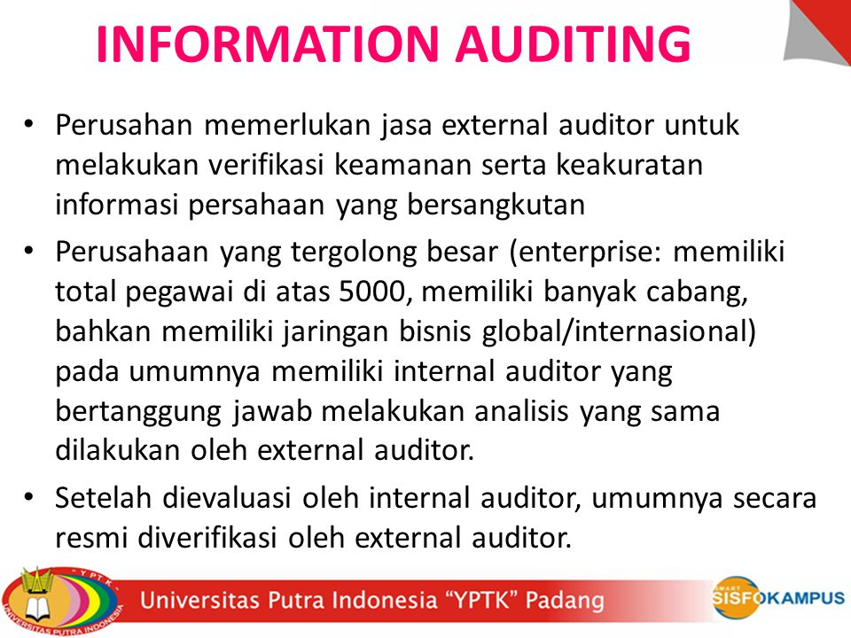 INFORMATION AUDITING