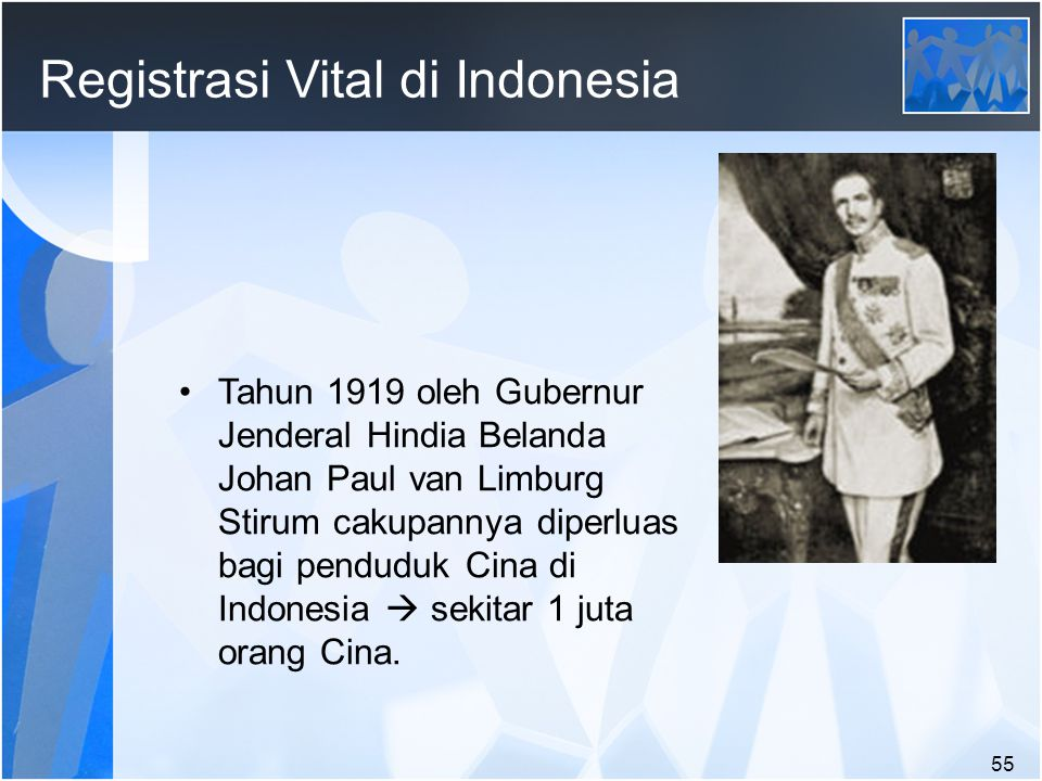 Registrasi Vital di Indonesia