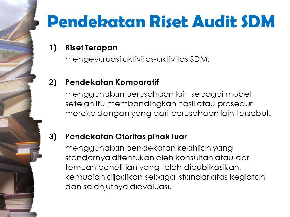 Pendekatan Riset Audit SDM